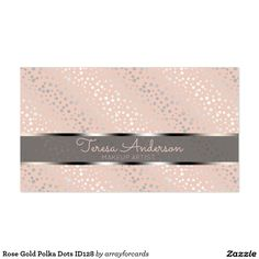 profile card - Girly Business Cards
