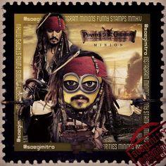 Minion del Capitán Jack Sparrow (Johnny Depp). Shares
