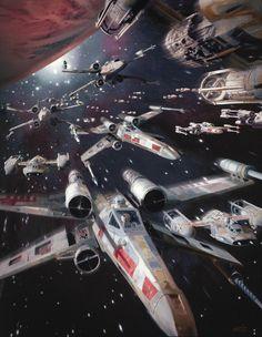 Star Wars stuffs by Dave Seeley - Imgur