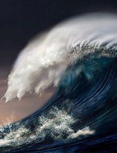 digital art sea nature water waves by Nikos Bantouvakis No Wave, Waves Photography, Landscape Photography, Nature Photography, Photography Classes, Photography Hashtags, Photography Studios, Birthday Photography, Photography Portraits