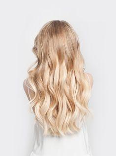 Luxy Hair - Seamless Blonde Balayage #T1860 - 20