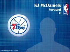 KJ McDaniels - Philadelphia 76ers - 2014-15 Player
