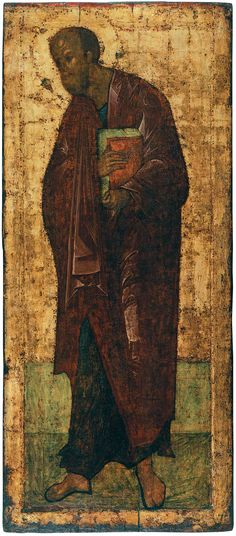 Andrei Rublev ~ The Apostle Paul, 1425-27
