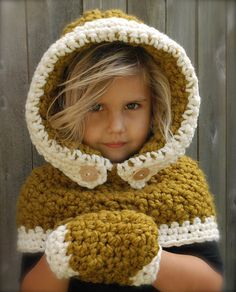 Baylie Bear Cowl pattern by Heidi May   Crochet Hat Child-Adult   Pinterest    Tricot, Tricot crochet et Crochet 041bf0b6ca2