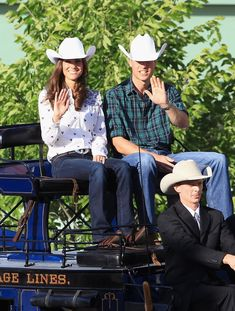 Kate and William were transformed into cowpokes during a July 2011 stop in Calgary, Canada.