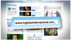 Comercial de divulgação do novo site da Globo Internacional Website, Speech Balloon