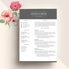 Professional Resume Template CV @creativework247