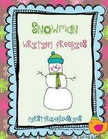 Freebie Snowman Unit!