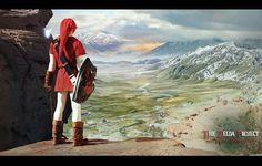 TZP: Death Mountain Overlook by Adella.deviantart.com on @DeviantArt