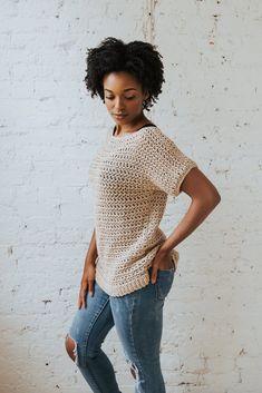 Summertime Tee // Crochet PDF Pattern