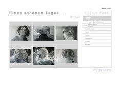 """Cecily Park - Galerieansicht der Serie """"Eines schönen Tages"""" http://www.cecilypark.com/index.php?de_eines-schoenen-tages. Info zum Webdesign: eyelikeit - visual solutions, Düsseldorf: http://eyelikeit.com/index.php?de_cecily-park"""