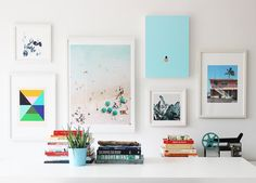 Poppytalk: How to Curate + Hang a Gallery Wall