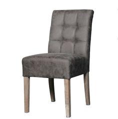 Eetkamerstoel Sem is stoer en stevig stoel.  Door het massief houten onderstel in combinatie met de gekozen stof ziet de stoel er sterk en robuust uit.  Een extra aandachtspunt is gecapitonneerde rugleuning. (zonder knopen)    Eetkamerstoel Sem is leverbaar in 4 verschillende kleuren:  grijs, antraciet, naturel en taupe.  Afmeting:  Breedte:                 45 cm  Diepte:                 59 cm  Hoogte:                 95 cm  Zithoogte:                52 cm  Zelf monteren:   Ja   Deze stoel…