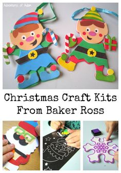 Christmas Craft Kits From Baker Ross. Easy to make Christmas decoration kits.