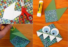 Manualidad sencilla para hacer marcapáginas con niños   Fiestas infantiles y cumpleaños de niños