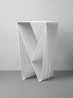 steel table by nathan goldsworthy