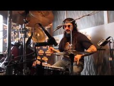 Playing Drums with Mike Portnoy from Dream Theater