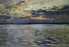 The Lake, Eventide - Isaac Levitan
