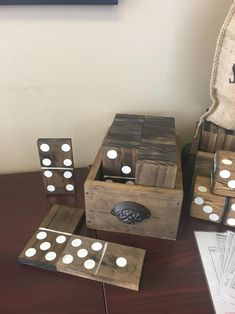 Diy Yard Games, Diy Games, Backyard Games, Outdoor Games, Garden Games, Diy Wood Projects, Wood Crafts, Woodworking Projects, Yard Dice