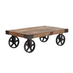 Factory-style Coffee Table