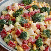 Sałatki - Sałatka brokułowa