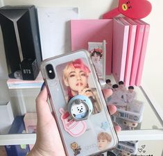 Korean Phone Cases, Korean Phones, Kpop Phone Cases, Diy Phone Case, Iphone Phone Cases, Phone Cover, Aesthetic Phone Case, Kpop Merch, Cute Wallpapers