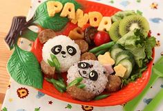 Cute & Delicious Panda Apetizer!
