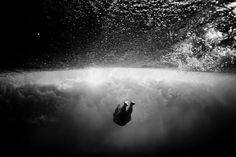"""""""The body surfing - surfing without anybody's help float - is one of the best experiences you can prove absolute in nature,"""" says Surfin-photographer Sarah Lee, """"because you are in total mercy of the will of the ocean."""""""