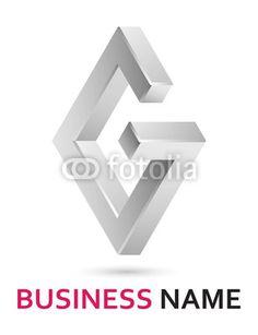 Alphabet logo design - letter G