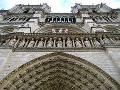Notre Dame in Paris- So beautiful!