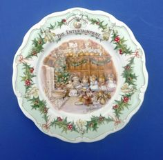Brambly Hedge Plate - The Entertainment