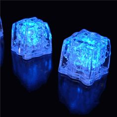 Ice Cubes Lights Premium LED   1.5 Blue 3- Mode  (8 ice cubes) $23.92 / $2.99 ea.