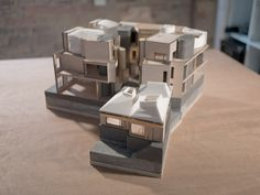 Walmer Yard forms a discreet and private set of four interlocking houses totalling over square feet set around an open courtyard in This magnificent Architects London, Architecture Student, Architecture Models, Model Sketch, Plan Drawing, Architectural Section, Site Plans, Project, Building Facade