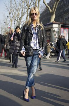 Street Style show time. How to wear in daily life