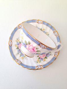 Vintage Windsor English Fine Bone China Teacup and Saucer
