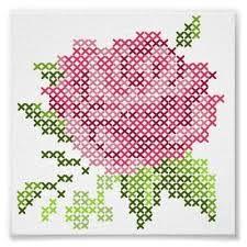 Image result for Vintage Rose Cross Stitch pattern