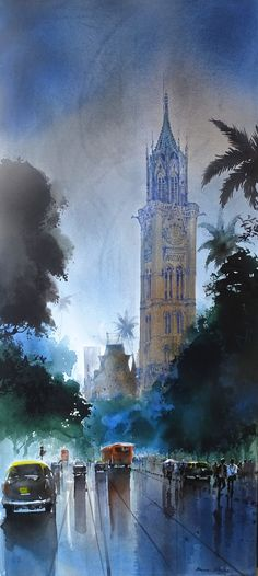 #bombay #clock #tower #rains #nostalgis