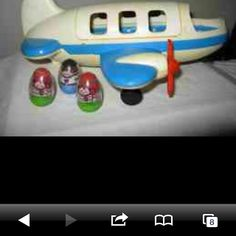 Yes had this too.  Weebles airplane
