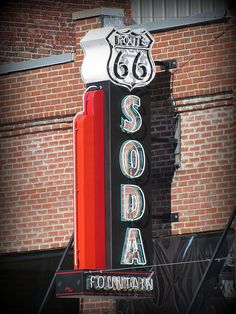 Along the historic Route 66 in Baxter Springs, Kansas.