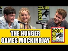 ▶ The Hunger Games Mockingjay Part 2 Comic Con Panel - Jennifer Lawrence, Josh Hutcherson & cast - YouTube