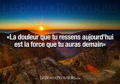 Les Beaux Proverbes – Proverbes, citations et pensées positives » » La force de demain