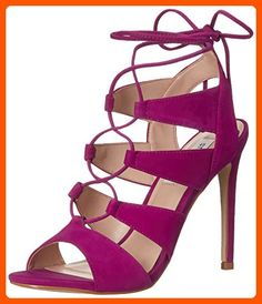 Steve Madden Women's Sandalia Dress Sandal, Purple Nubuck, 10 M US - All about women (*Amazon Partner-Link)