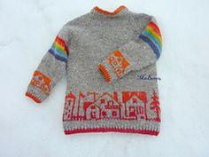 Ravelry: Liten bygenser med raglanfelling pattern by MaBe Gingerbread Man Crafts, Preschool Art Projects, Under The Rainbow, Black Construction Paper, Knitting For Kids, Cute Baby Clothes, Ravelry, Knitwear, Knit Crochet