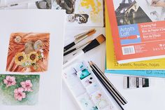The art supplies an artist chooses to go back to time and time again, those Holy Grail items, make up an artist's tool box. Discover what basic materials you need to start making works of art right now with this list of essential art supplies every artist should have!