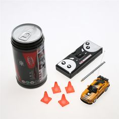 Coke Can Mini RC (7 Colours)     Tag a friend who would love this!     FREE Shipping Worldwide     Get it here ---> https://www.hobby.sg/7-colors-coke-can-mini-speed-rc-radio-remote-control-micro-racing-car-toy-with-4pcs-road-blocks-rc-toys-kids-toys-gifts/    #drones