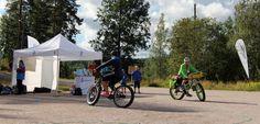 Fatbikes at the Day of Finnish Nature 2015. Photo: Metsähallitus / Antti Saario