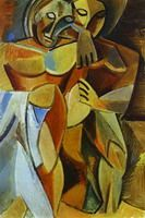 Pablo Picasso.  Amistad de 1908