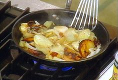 Potatoes and Onions recipe from Rachael Ray via Food Network