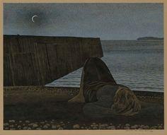 Alex Colville, New moon