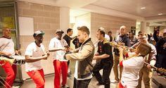 Olly Murs TV skit- England Vs Ireland @ Wembley Stadium | Fusion Fighters